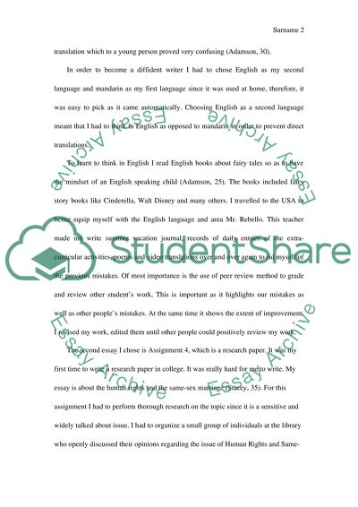Thesis In An Essay  High School Senior Essay also Conscience Essay Portfolio Letter Essay Example  Topics And Well Written  Importance Of English Language Essay