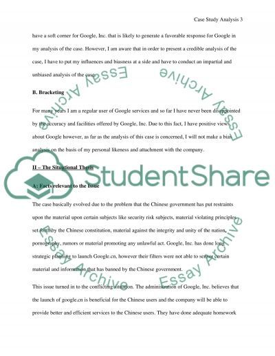Business Environment essay example