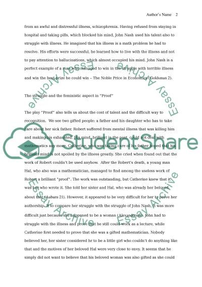 beautiful mind essay papers This essay a beautiful mind and other 64,000+ term papers, college essay examples and free essays are available now on reviewessayscom.