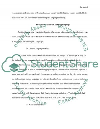 Reflective blog essay example