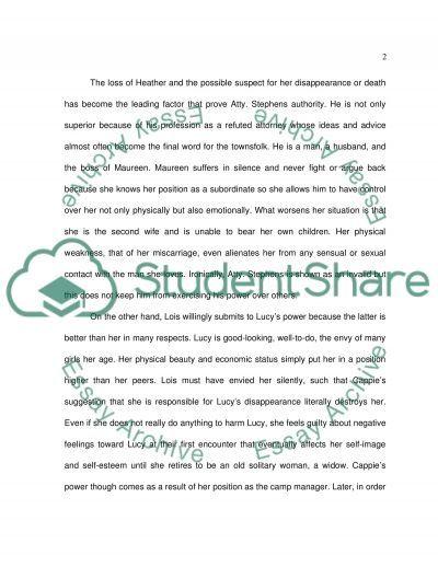 Power Play essay example