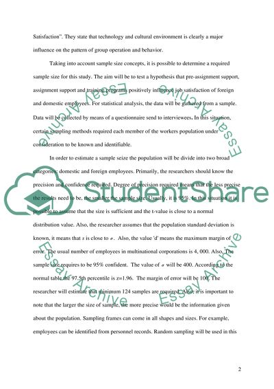 how to write a statistical analysis paper