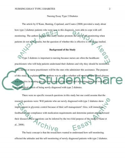 Introduction to Nursing research essay example