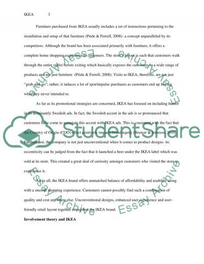 Consumer Behaviour- Brand Analysis Report essay example