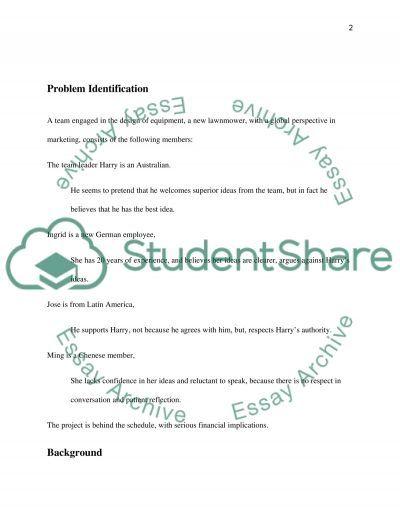 Problem solution report essay example
