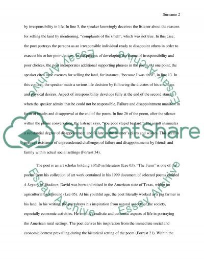 Poetry Research Paper