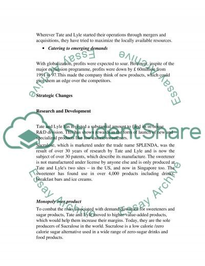 Coperate strategy essay example