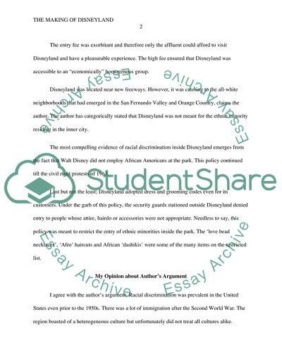 My Mother Essay In English The Making Of Disneyland  Essay Example Essays In Science also High School Vs College Essay The Making Of Disneyland Essay Example  Topics And Well Written  Essay Examples For High School Students