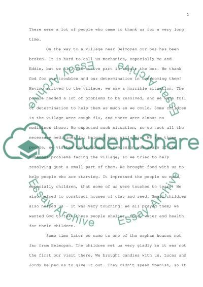 Personal college admissions essay essay example