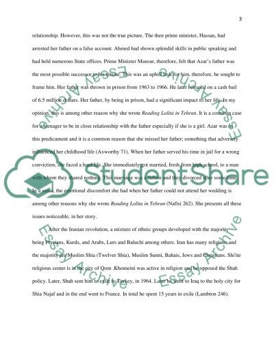 iranian revolution paper essay example Explore a database of 500,000+ college essay examples make your essays great again with the best writers the islamic revolution and the iranian war against iraq are very significant components to the grand scheme of history and marjane satrapi's life is a remarkable depiction of the.