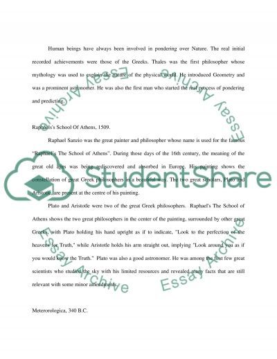 Human intellectual curiosity essay example