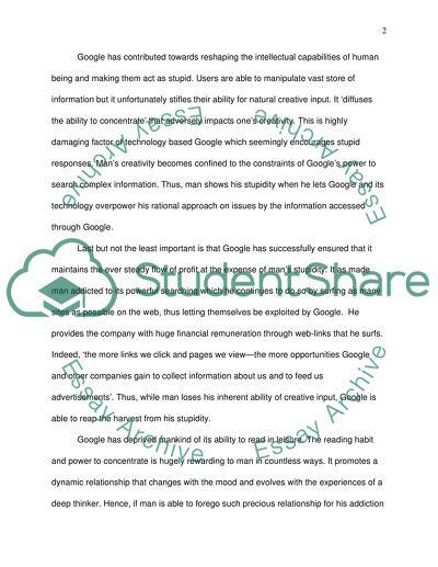 Private school essay