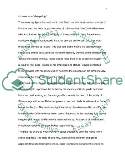 Reference Paper essay example