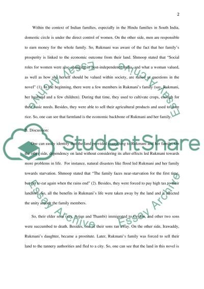 literary essay on the novel nectar in a sieve research paper literary essay on the novel nectar in a sieve essay example
