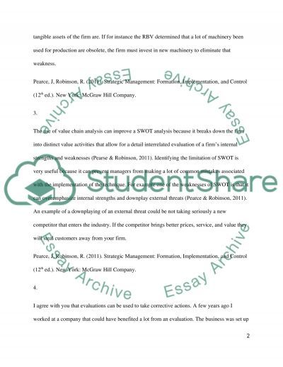 Discussion Questions and Participation - Marketing Essay essay example