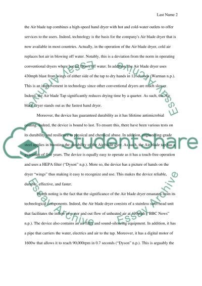 Inventing solutions essay example