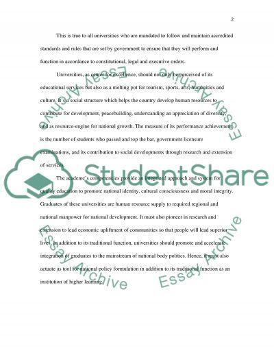 Strategic Management Assignment essay example