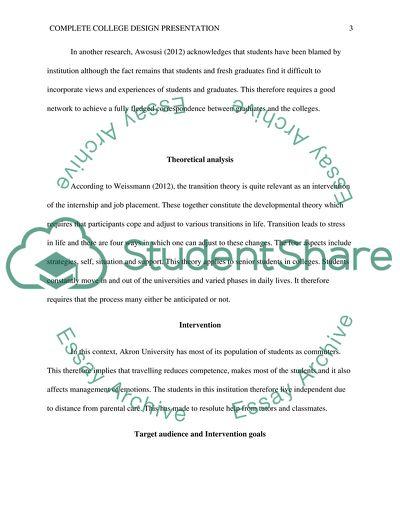 Complete College Design Presentation