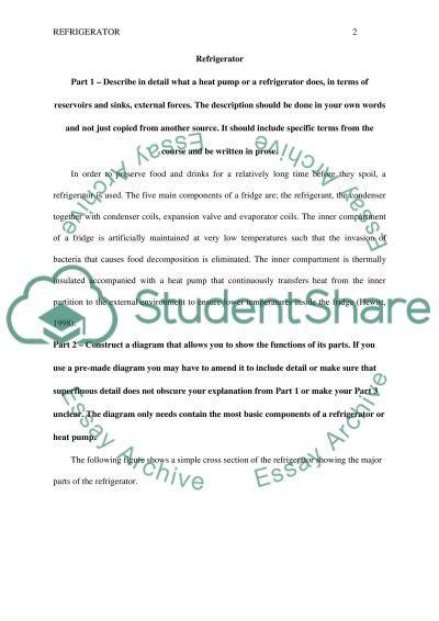 TD essay example