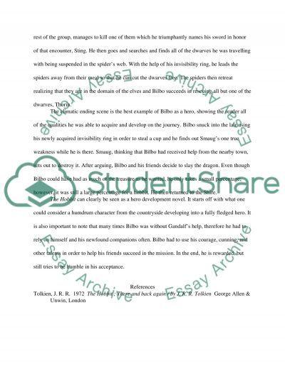the heroism of bilbo baggins essay example. Resume Example. Resume CV Cover Letter