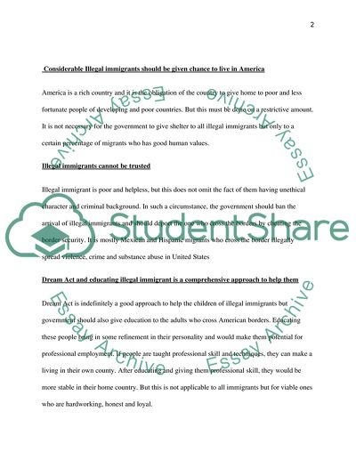 dream act essay example  topics and well written essays    words extract of sample dream act