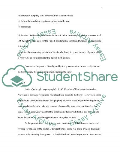 Financial accounting College Assignment essay example