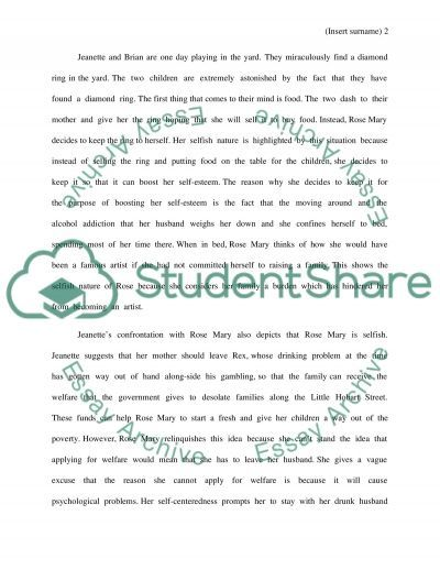 glass castle literary analysis The glass castle character analysis essay the glass castle is an interesting book following the story of the young author jeanette glass castle literary analysis.