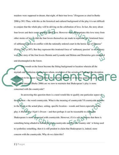 Paragraph format essay