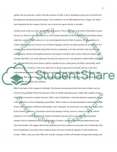 Managing People ,Info & knowledge essay example
