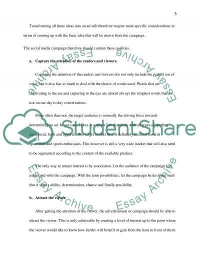 marketing communication (REPORT) Essay example