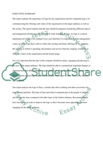 The Importance of Logo for any Organisation essay example