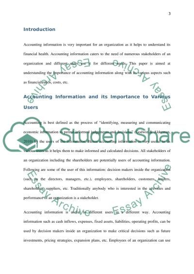 accounting information essay Tags: accounting essays, career essays, career path for accounting studies, essay on career path, essay on your career path ← the iliad essay business and management research paper → client testimonials.