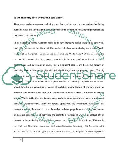 MBA MARKETING PAPER