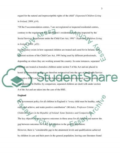Looked After Children essay example