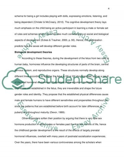 biological and cognitive development essay This simply refers to the biological changes that the  cognitive changes cognitive development are changes that come with  with over 10 years in the essay.