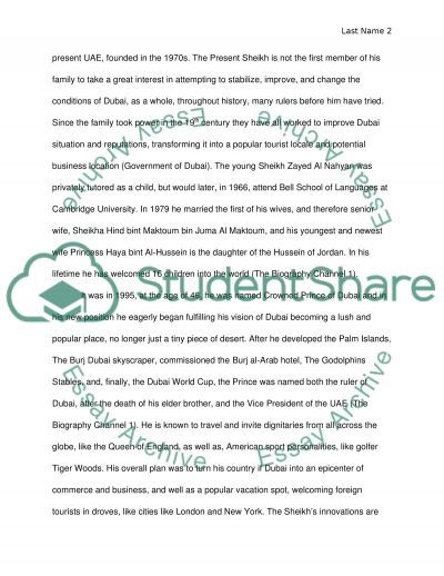 sheikh zayed alnahyan biography essay example topics and well  sheikh zayed alnahyan biography essay example