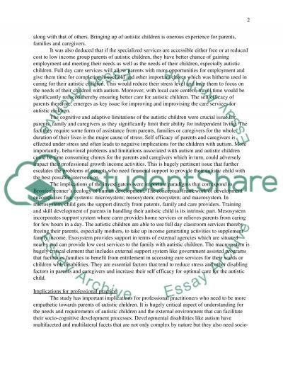 Article Review 2 essay example