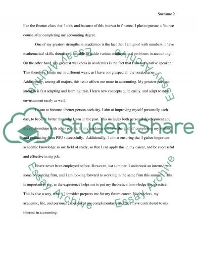 What You Want To Be When You Grow Up essay example