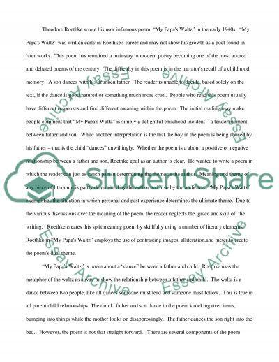 theme essay example
