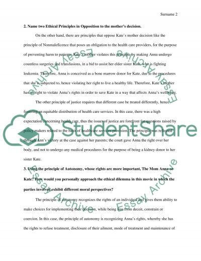 Medical Ethics essay example