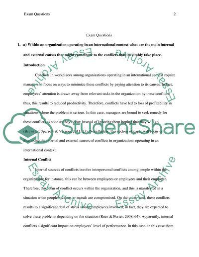 Answer exam question1a 1b