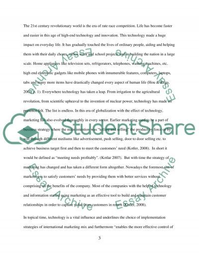 The impact of the internet an markting development a case study of apple Inc. computers essay example