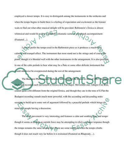 beethoven interpretations essay example  topics and well written
