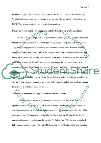 Applications In Aviationaerospace Law Essay Questions Essay Applications In Aviationaerospace Law Essay Questions