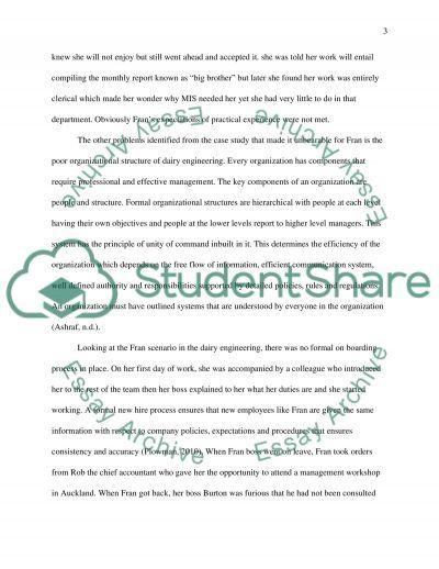 Organisational Behaviour and Development-Assessment Task No 2 essay example