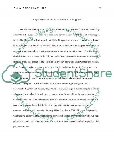 Essay Ctitique