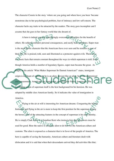 Thematic essay 1