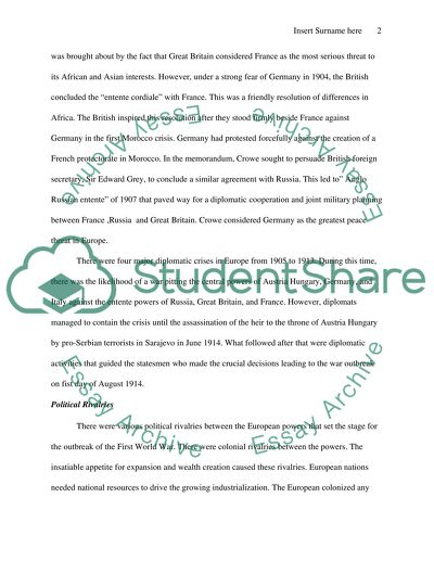 Proper essay form, with supporting argument, facts, and examples
