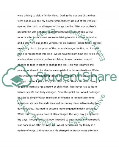 essay he changed my life Essay checker my essay write a rap for your favorite that i did not go into any  detail.