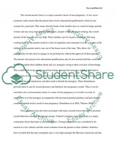 teen pregnancy essay example topics and well written essays teen pregnancy essay example